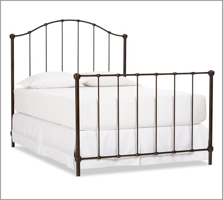 Goodwill Headboard Makeover Bed Frame Plans Iron Bed Iron Bed