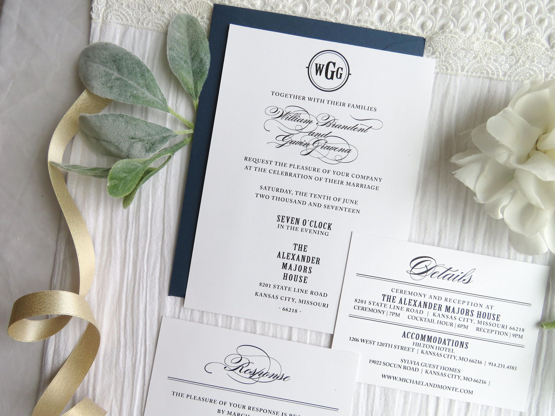 Exelent Wedding Invitations Kansas City Model - Invitations Design ...