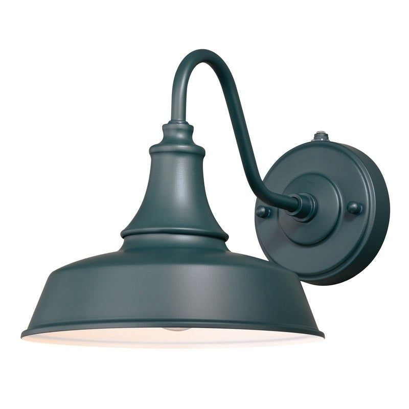 Vaxcel Dorado Green Dark Sky Dusk To Dawn Outdoor Barn Wall Light