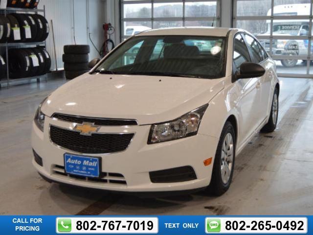 2014 Chevrolet Chevy Cruze Ls Auto White 13 487 16108 Miles 802