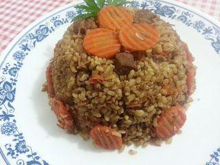 مدونة يم يم محلى اكلاتنا طريقة عمل البرغل بالجزر واللحم والتوابل Food Beef Meat