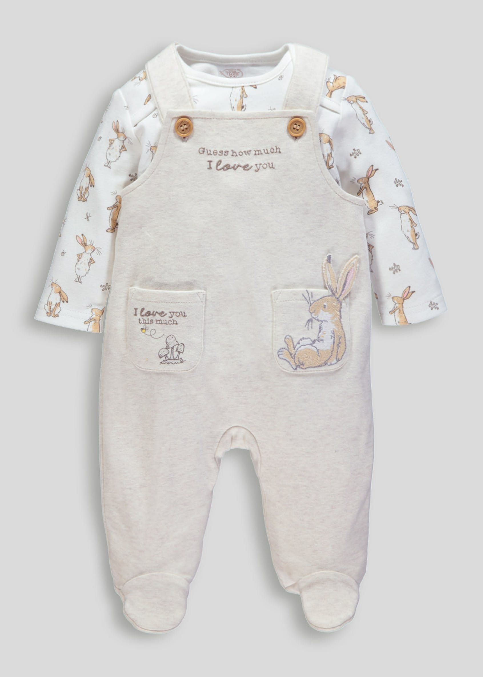 factory outlet super quality promo codes Unisex Guess How Much I Love You Dungarees & Bodysuit ...