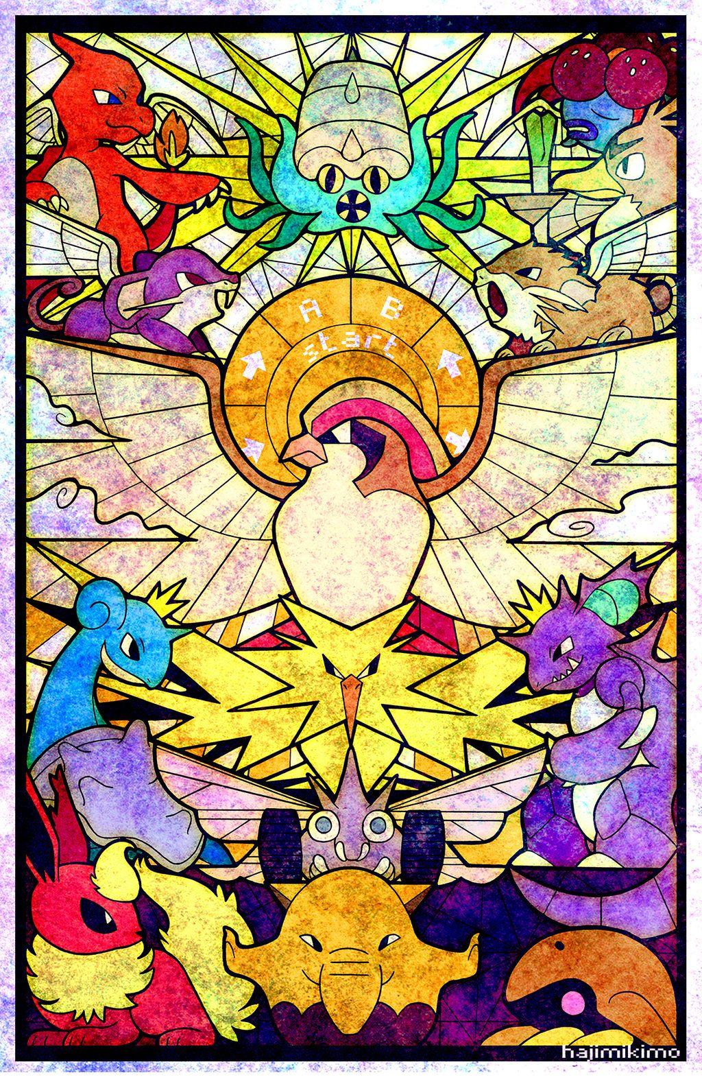 Twitch Plays Pokemon Red by hajimikimo Poster de pokémon