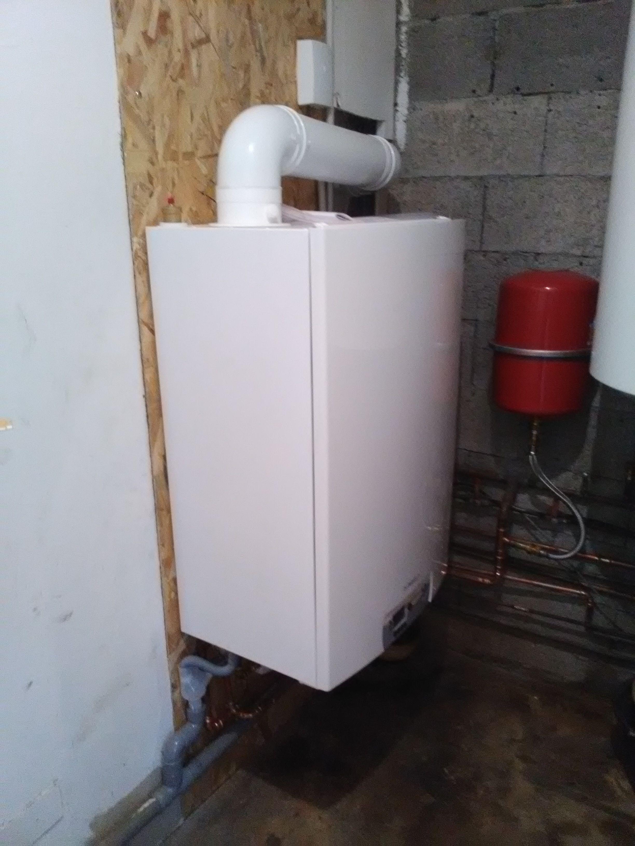 Installation Chaudière À Condensation remplacement d'une chaudière fioul; installation d'une