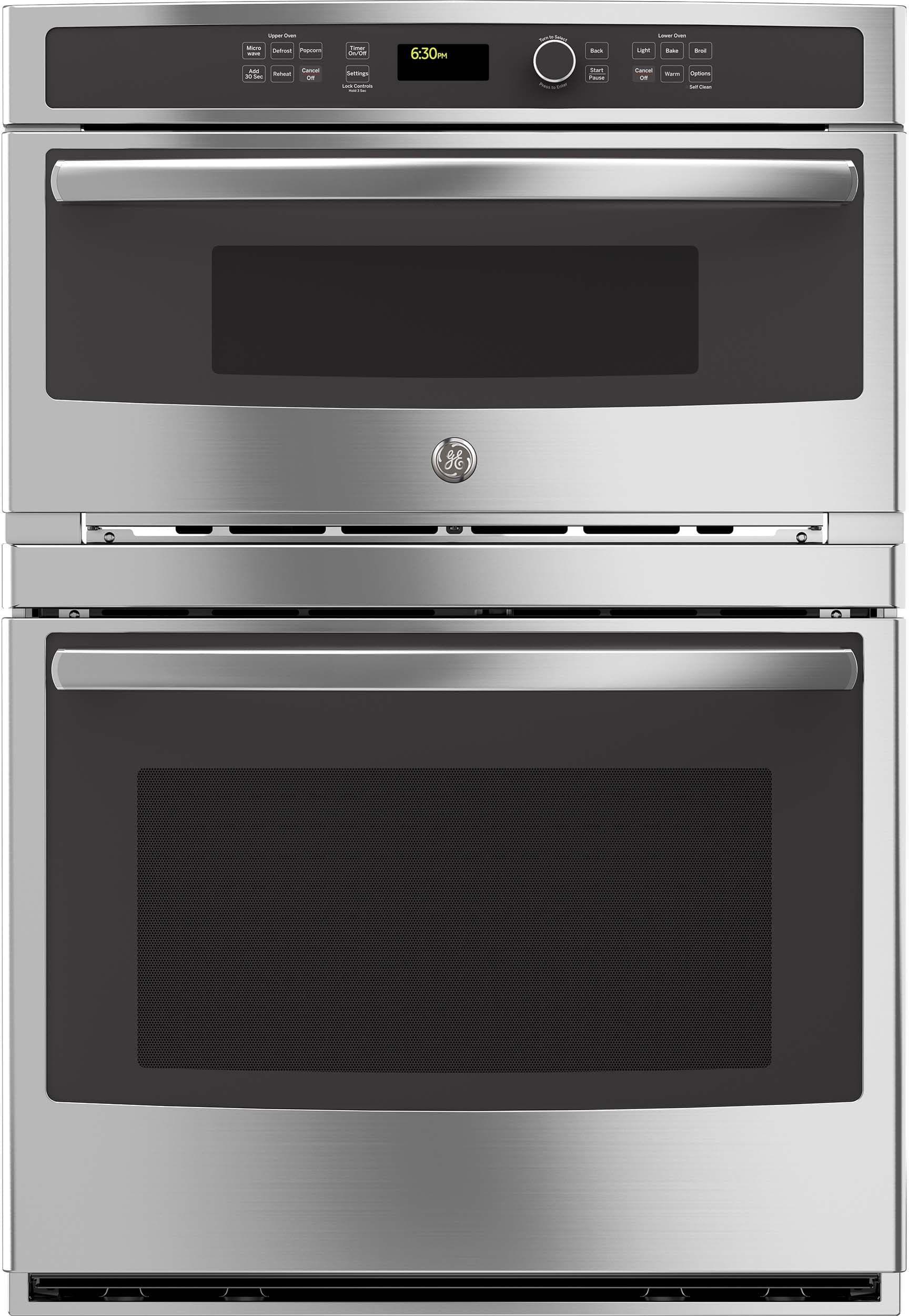Ge Profile Pt7800ekes Wall Oven Single Wall Oven Microwave Oven