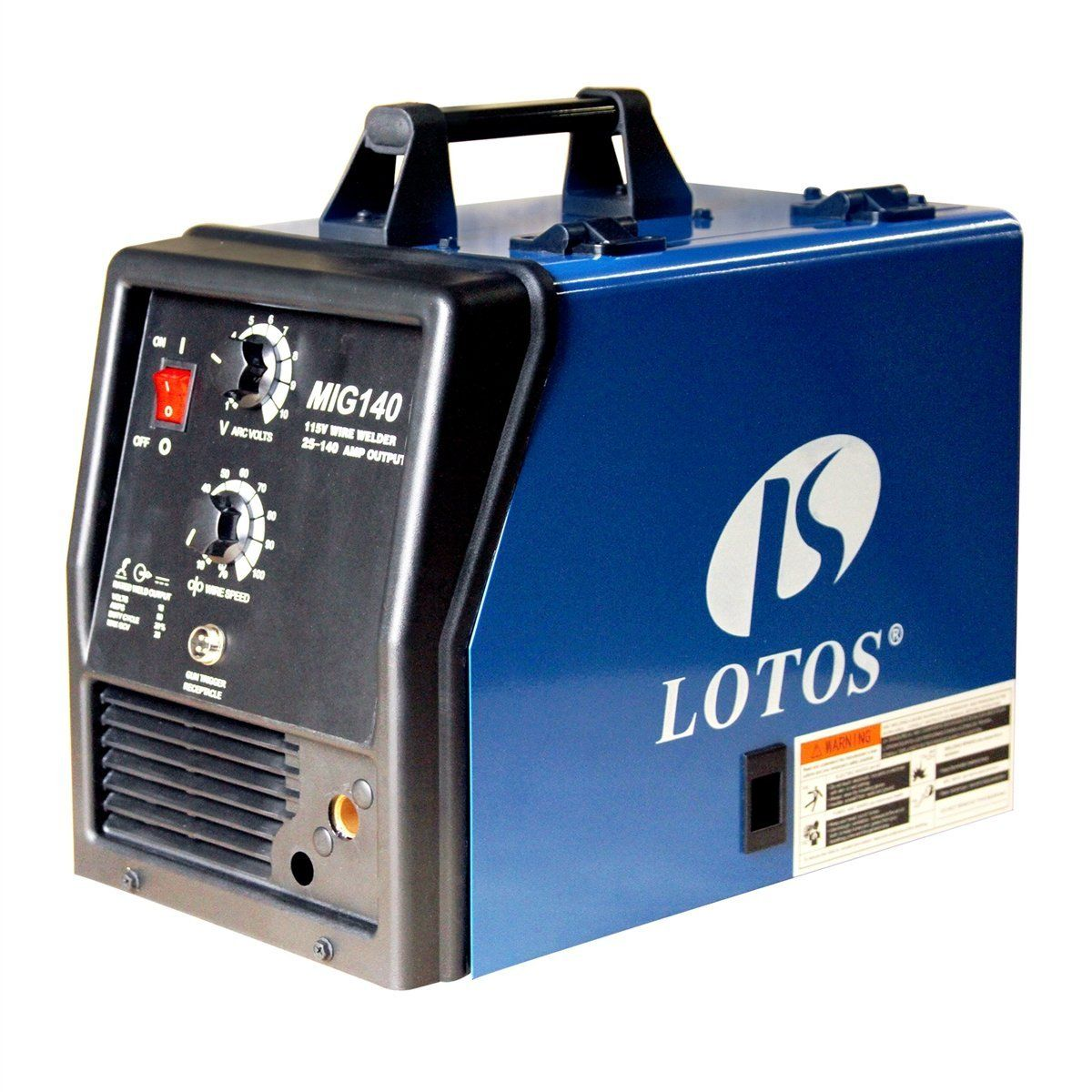 LOTOS MIG140 140Amp MIG Welder Additional Flux Cored and