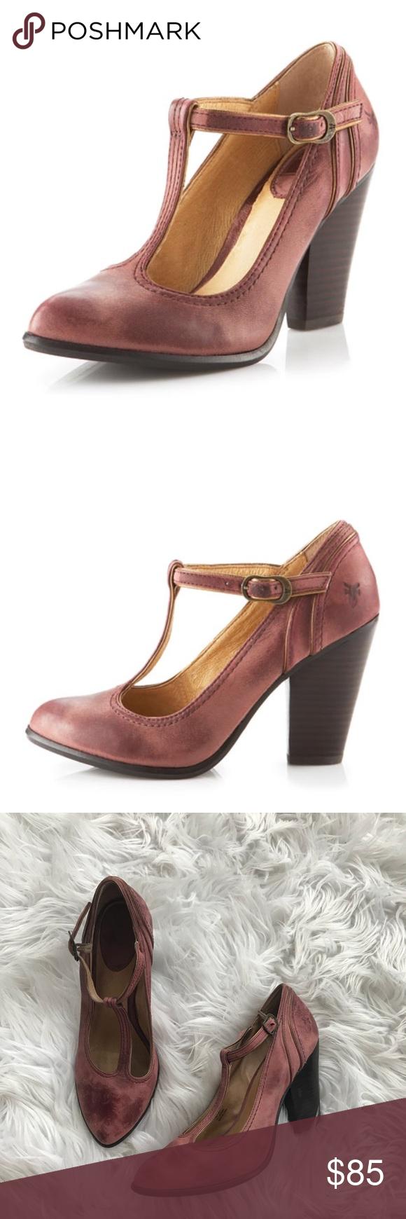 1442afc28baf Frye • Betty Ankle Strap Heels 10 Pink - Frye - Betty Ankle Strap Heels