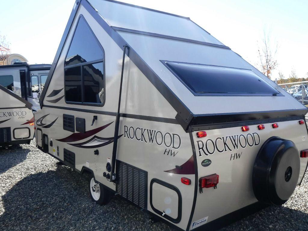 New 2017 Forest River RV Rockwood Premier A122HW Folding Pop-Up ...
