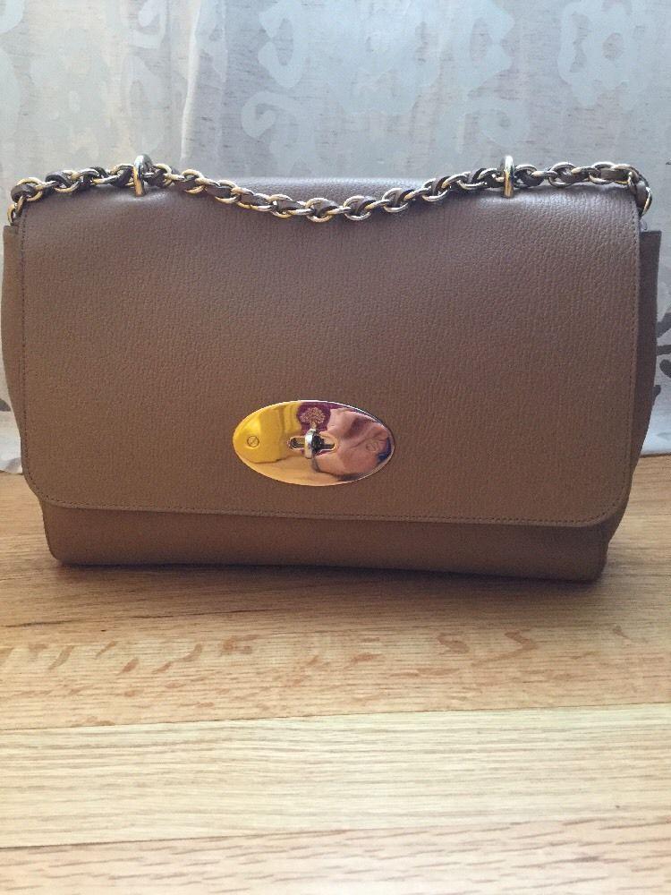 f74f4d3bcbd ... hot mulberry medium lily shoulder bag deer brown leather gold hardware  postman lock ebay deer 64365