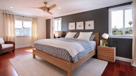 Natural Bedroom Design with Wood Furniture Set