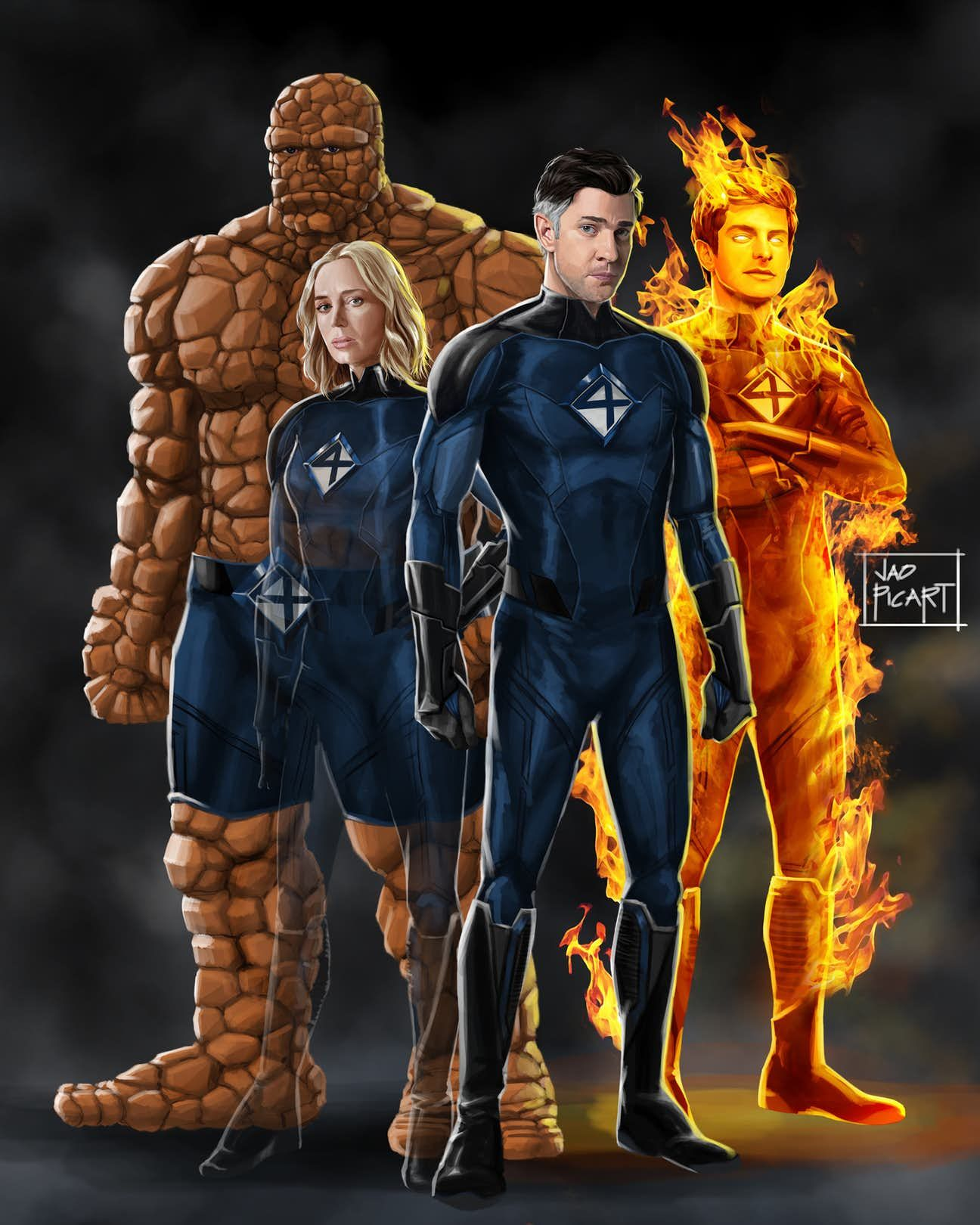It S Only A Matter Of Time Before The X Men And The Fantastic Four Show Up In The Mcu And These Fan D Marvel Characters Fantastic Four Marvel Mister Fantastic