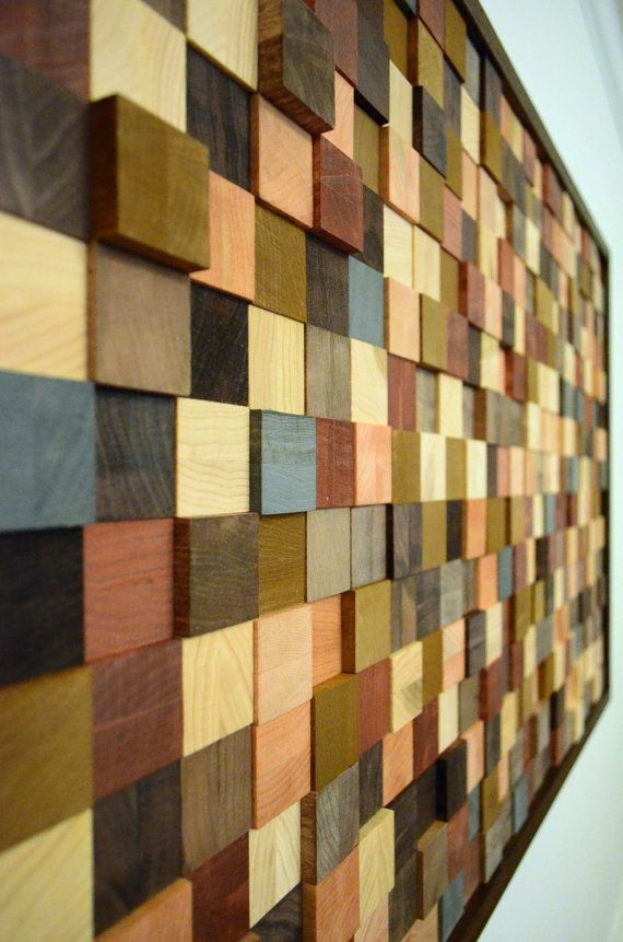 wood wall decor - \