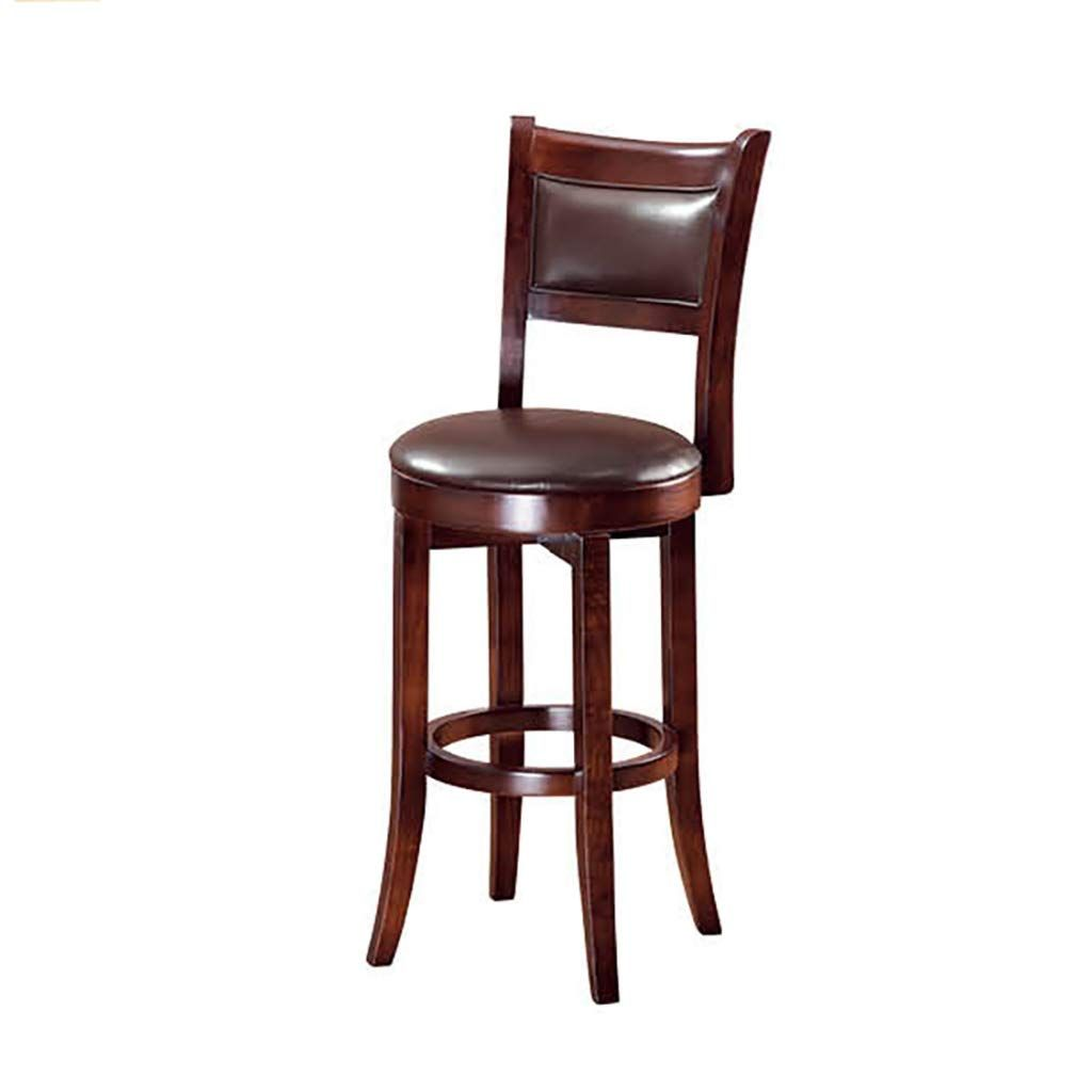 Fantastic Mlx Solid Wood Bar Chair High Chair Front Desk Swivel Chair Ncnpc Chair Design For Home Ncnpcorg