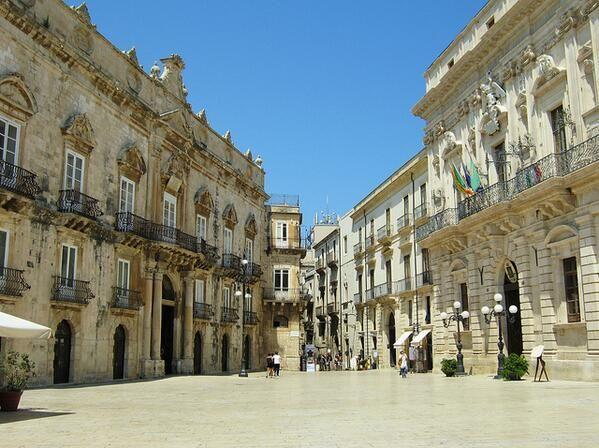 Siracusa in Sicilië