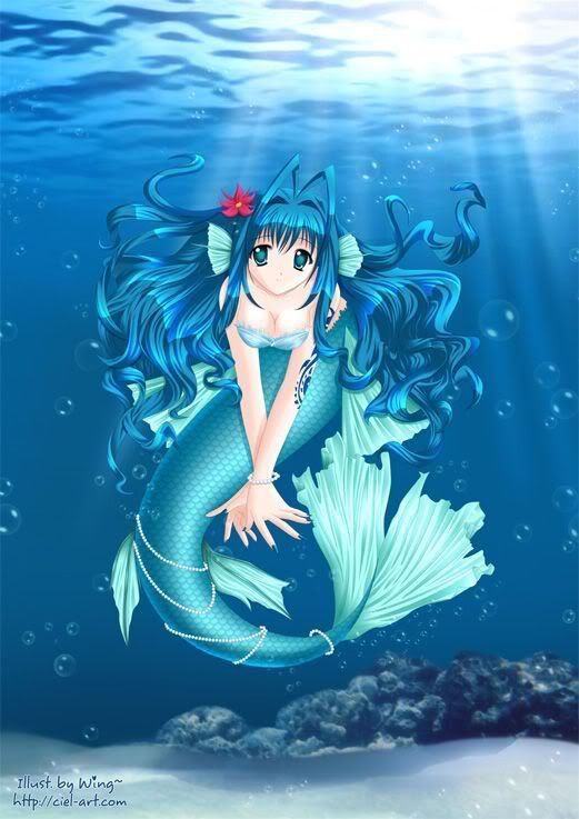 Anime Mermaid Anime Mermaid Mermaid Art Mermaid Wallpapers