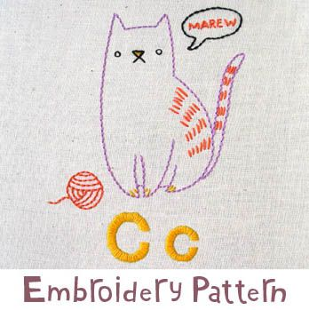 embroidery pattern for purchase