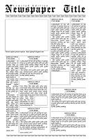 Newspaper Template   Redesigning The News  Free Newspaper