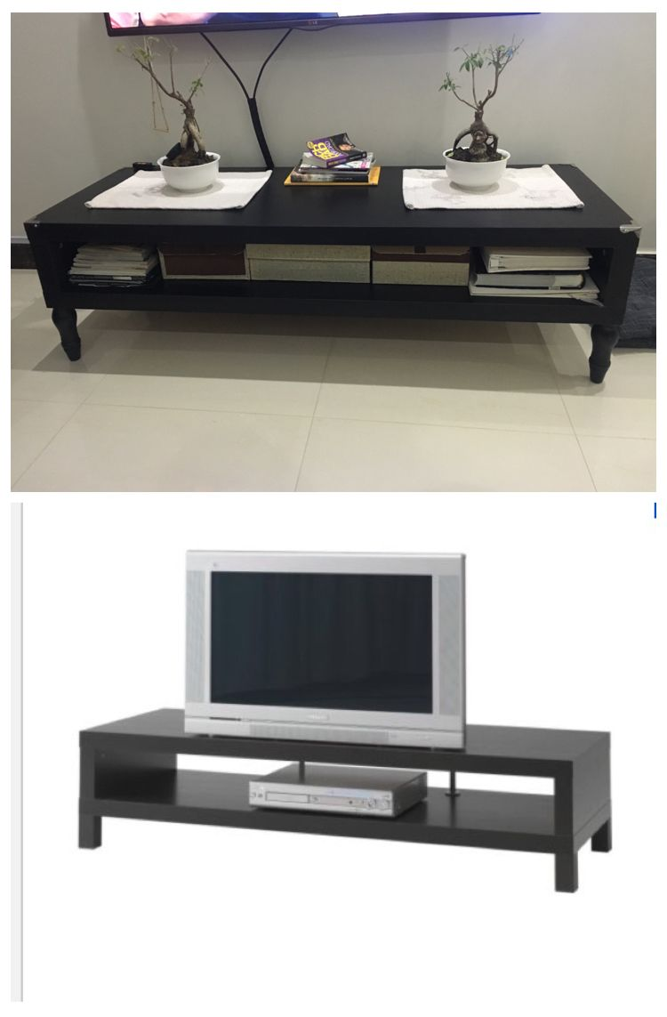 My Ikea Lack Tv Bench Hack Portfolio Cabine