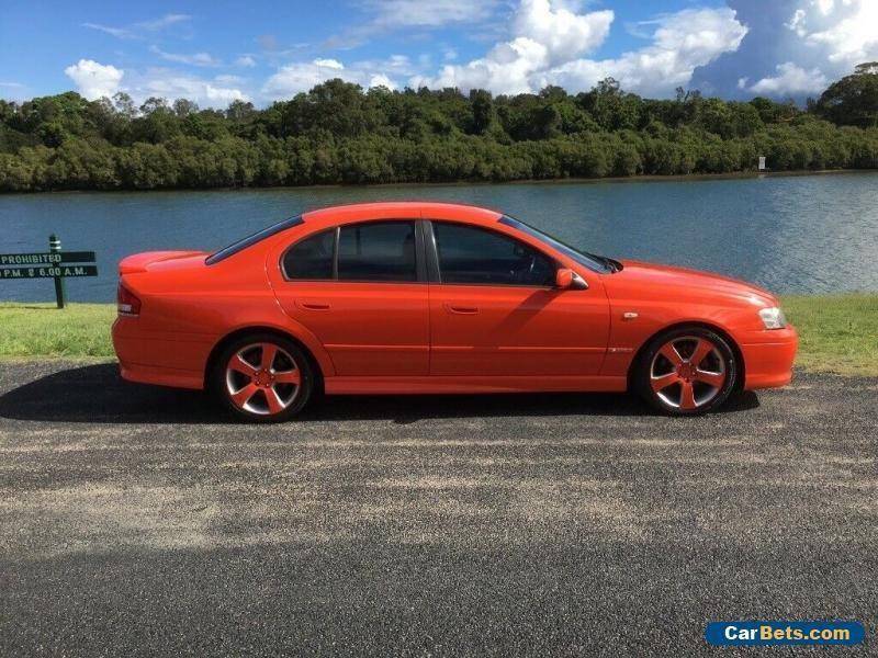 03 Ba Falcon Xr6 Turbo Xr6t Ford Falcon Forsale Australia Ba