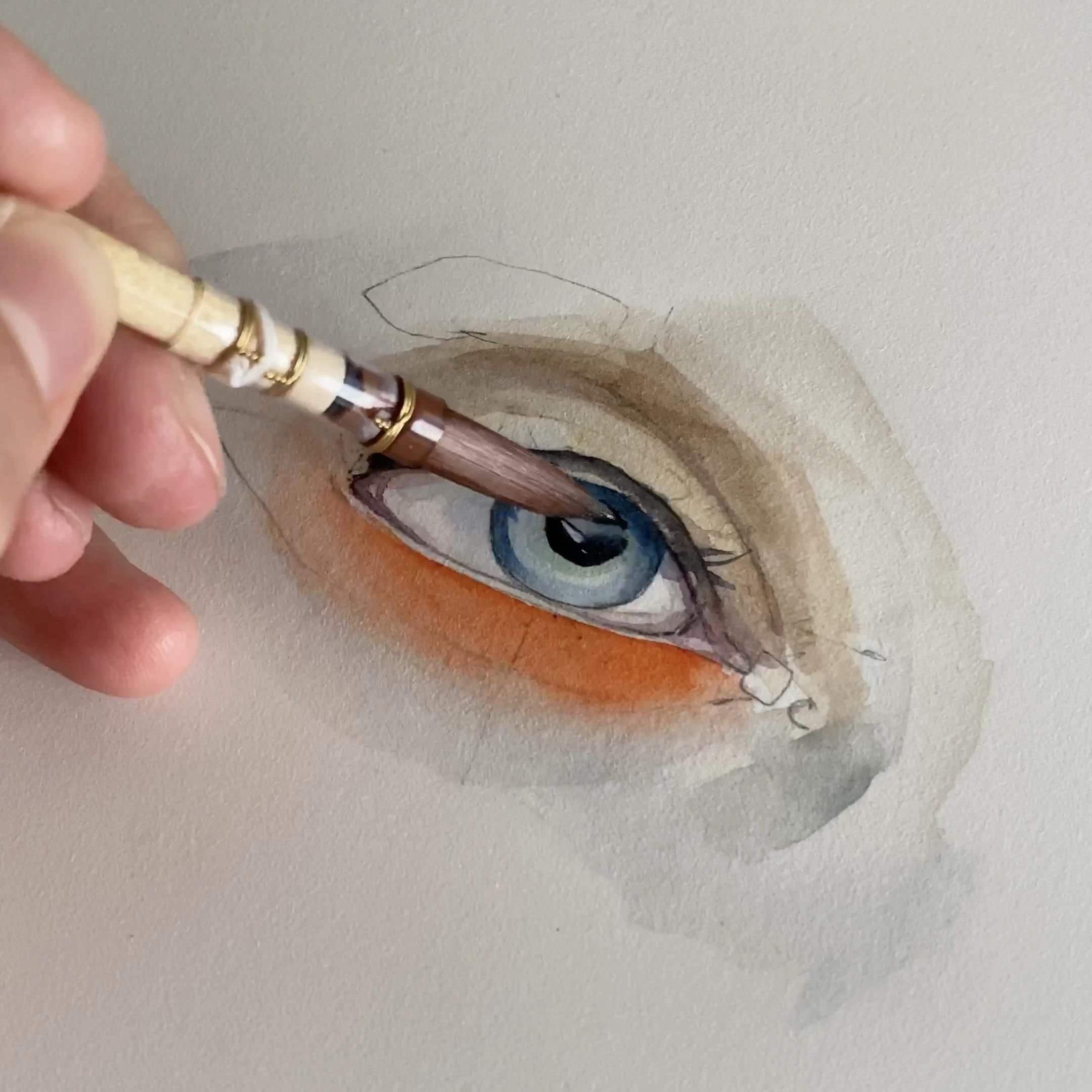 #watercolor #artist #watercolorart #contemporaryart #sydneyartist #drawing #art #australia #sydney #painting #nature#eyedrawing