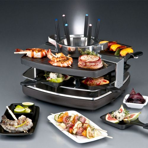 gastroback design raclette fondue set food fondue raclette pinterest fondue. Black Bedroom Furniture Sets. Home Design Ideas
