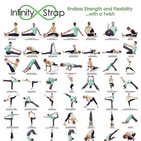 yoga strength and flexibility exercise  yoga poses names