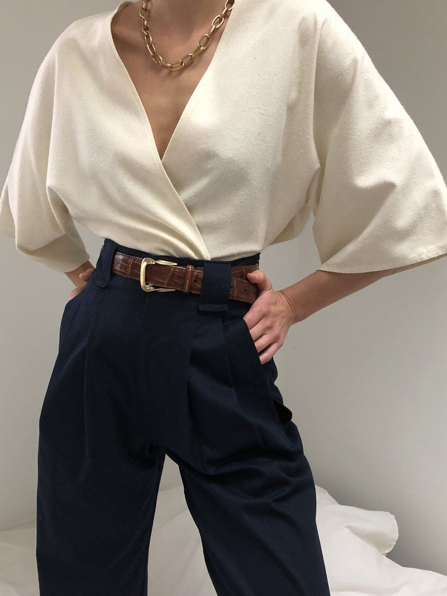 Photo of Na Nin Townes Cotton Trouser / Available in Multiple Colors