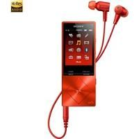 Sony NWA26HN 32GB Hi-Res Walkman Digital Music Player with Noise Cancelation - Red