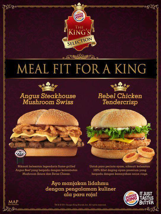 Menu Ala Carte Burger King Indonesia.Burger King Indonesia Burger King In 2019 Burger King