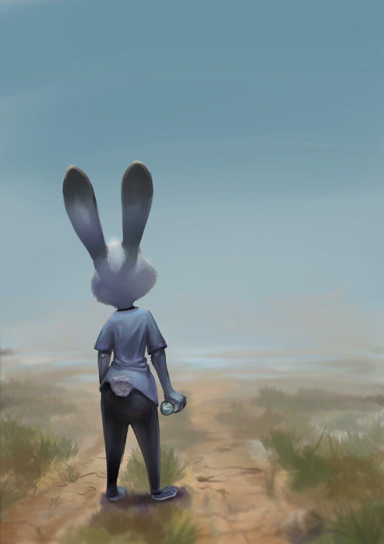 Judy alone art