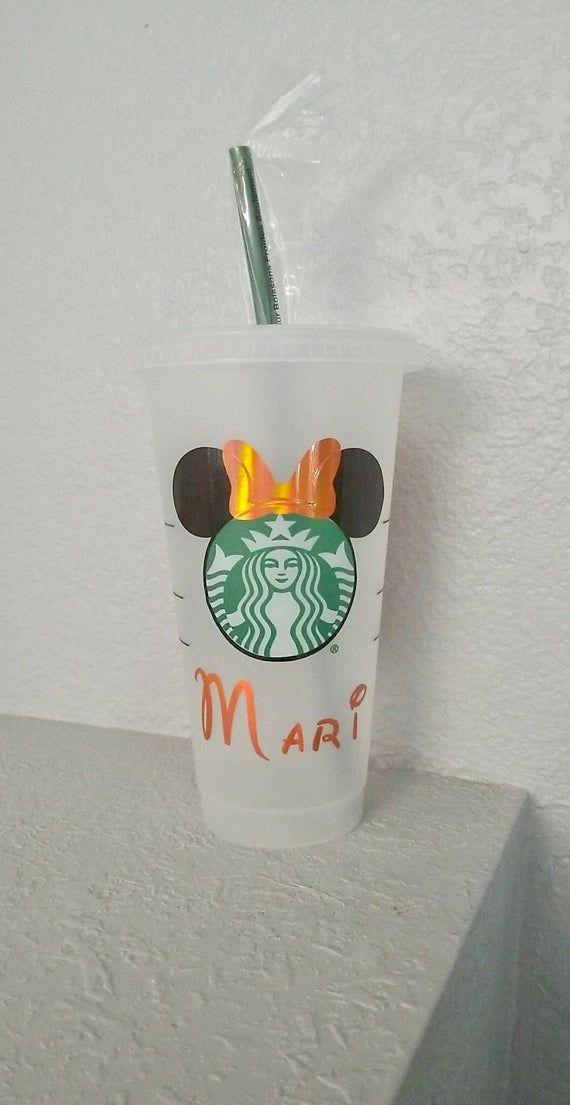 Disney Halloween, Disney Cup, Personalized Reusable Starbucks, Starbucks Venti Cold Cup, Starbucks C #disneycups