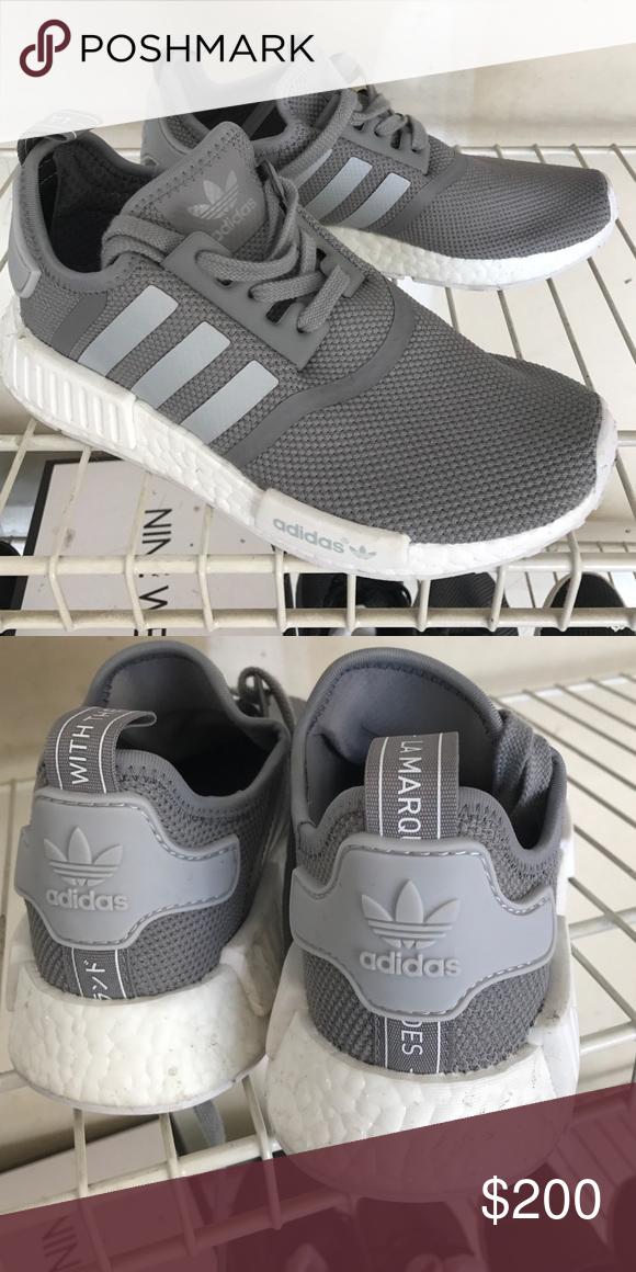 Gentle Brand Grey Mens Adidas Nmd Pk Runner Shoe Shoes
