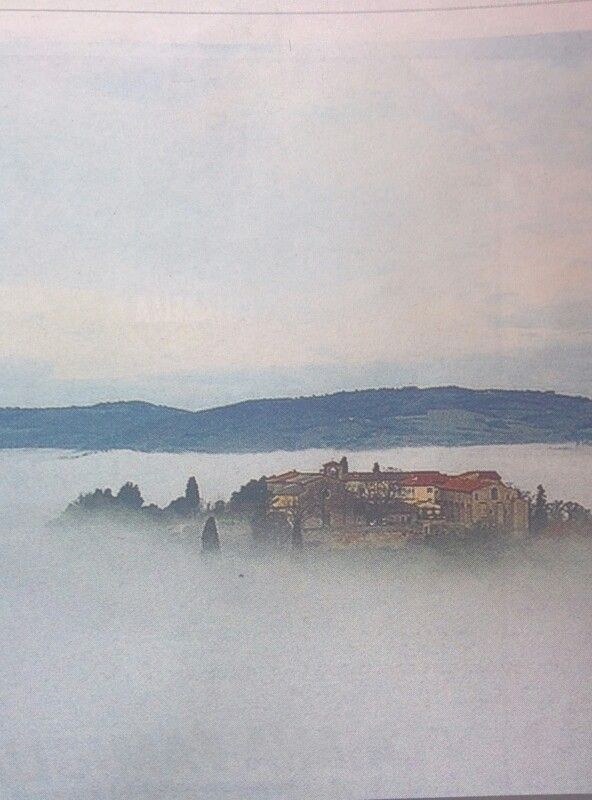 View from  Todi's hills