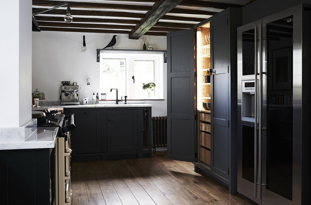 Best Professional UK Interior Thatched Cottage Kitchen by
