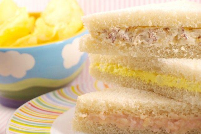 sandwiches relleno tipo rodilla