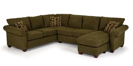 Charmant Stanton #Sofa 664 In Longbranch Vercle With Movable U0026 Convertable Chaise/  Ottoman. Unfinished FurnitureRooms ...