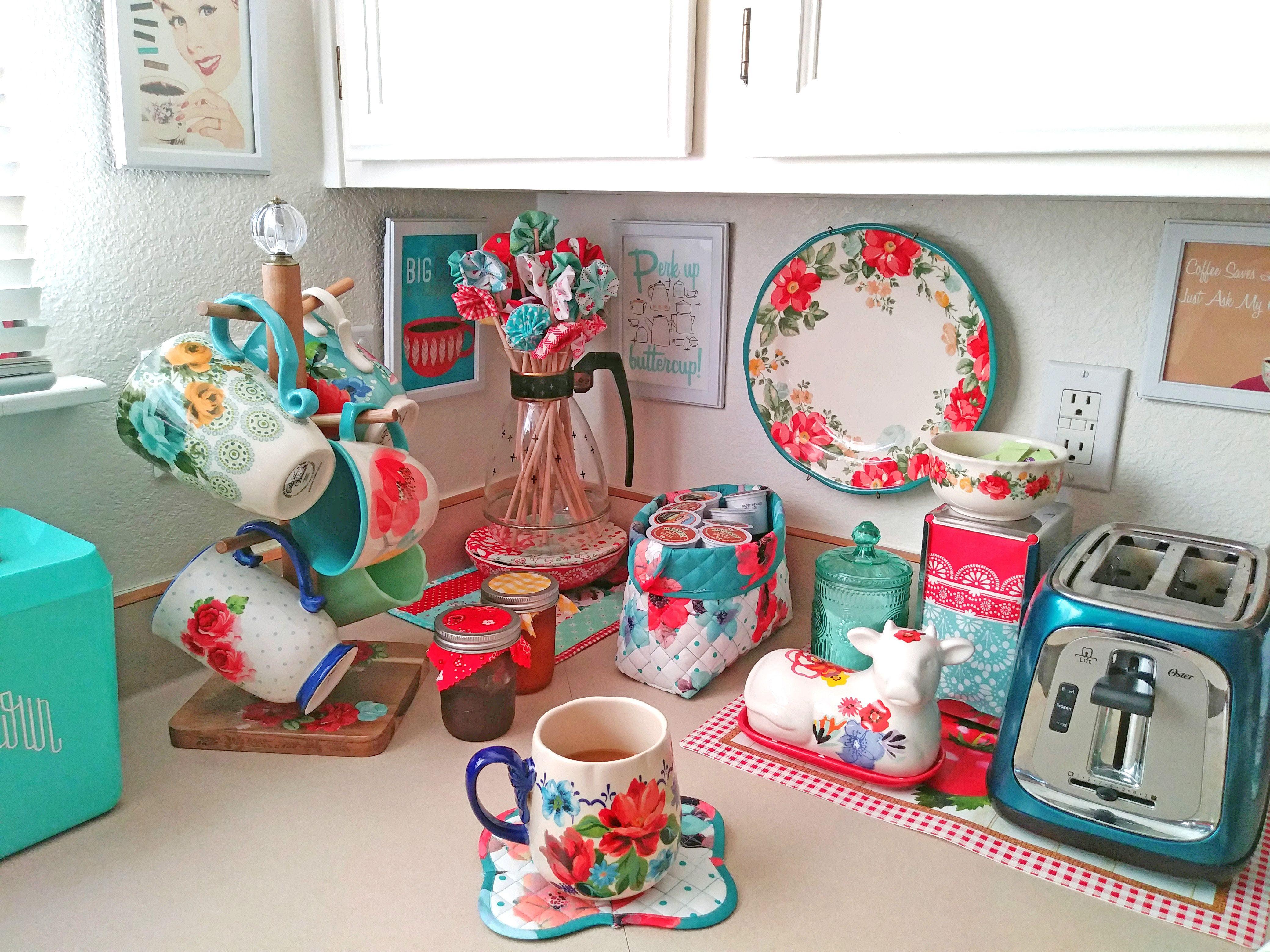 Pioneer Woman Storage Bins Get Them At My Etsy Shop Sew Sweet Sidekicks Pioneer Woman Kitchen Decor Pioneer Woman Kitchen Pioneer Woman Dishes