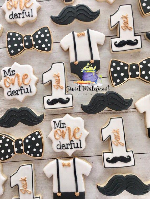 2 dozen Mr. One-derful cookies . Mr. One-derful favors Mr. wonderful sugar cookies. Mr. OneDerful birthday