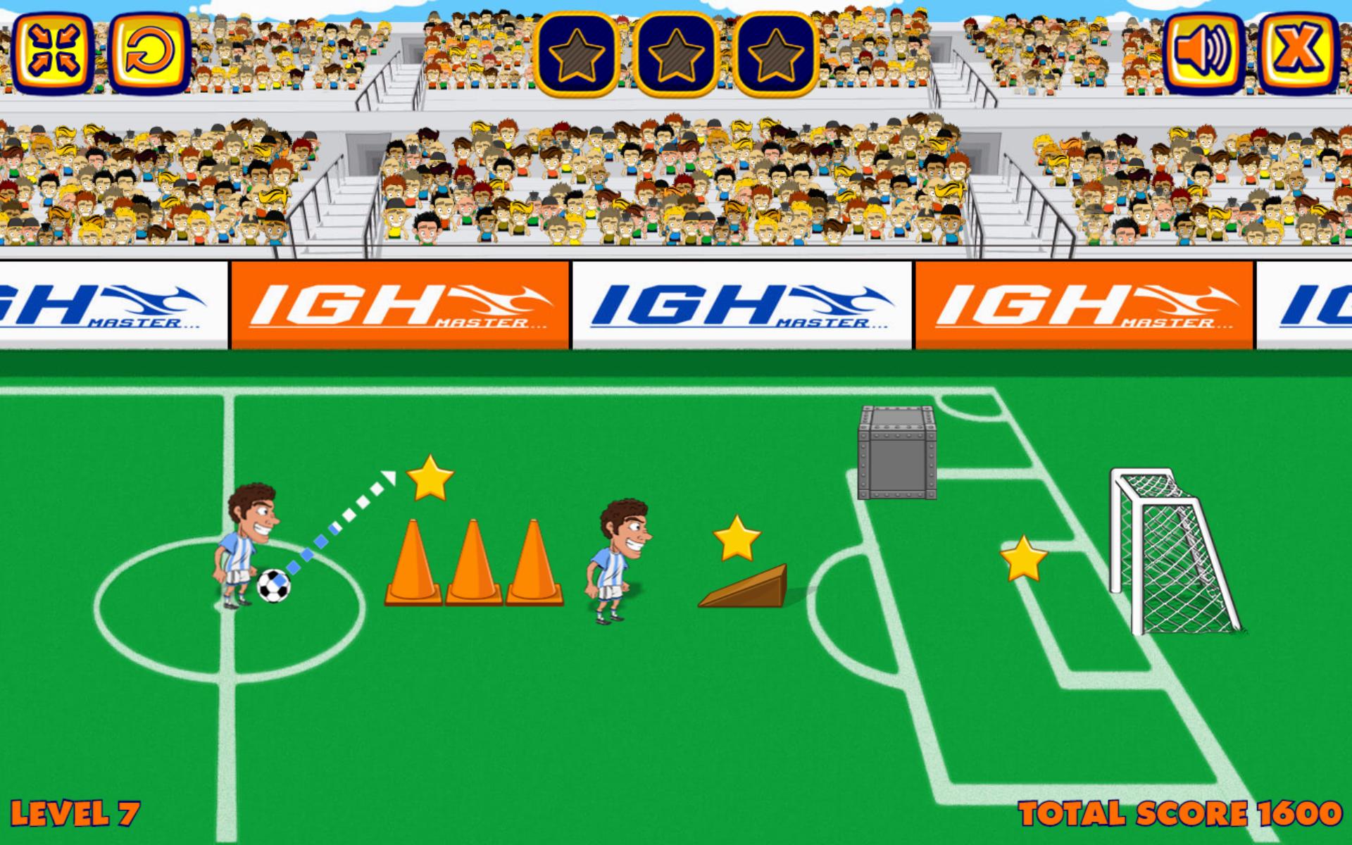 Freekick Training - HTML5 Sport Game   HTML Games   Sports games