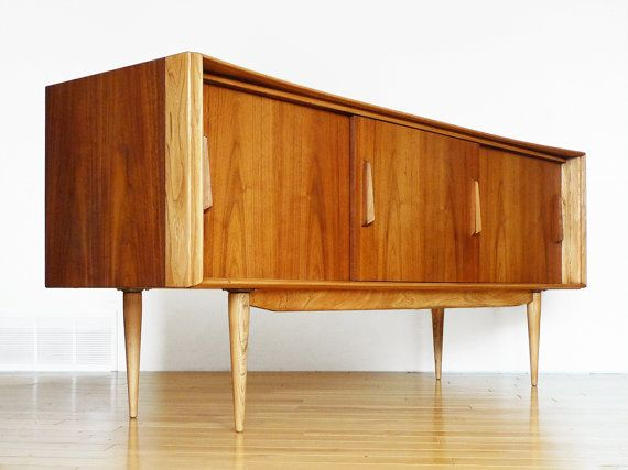 Credenza For Sale Perth : Reserved: mid century refinished deilcraft wood credenza sideboard