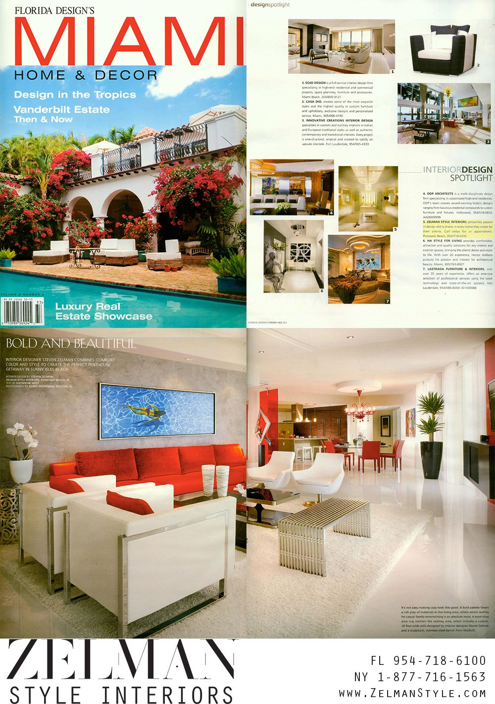 Miami Home And Decor Magazine Features Zelman Interiors Mia365