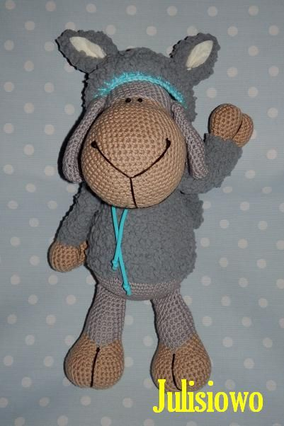 Crochet Sheep like a Jolly Sheep Wolf Nici, https://www.etsy.com ...