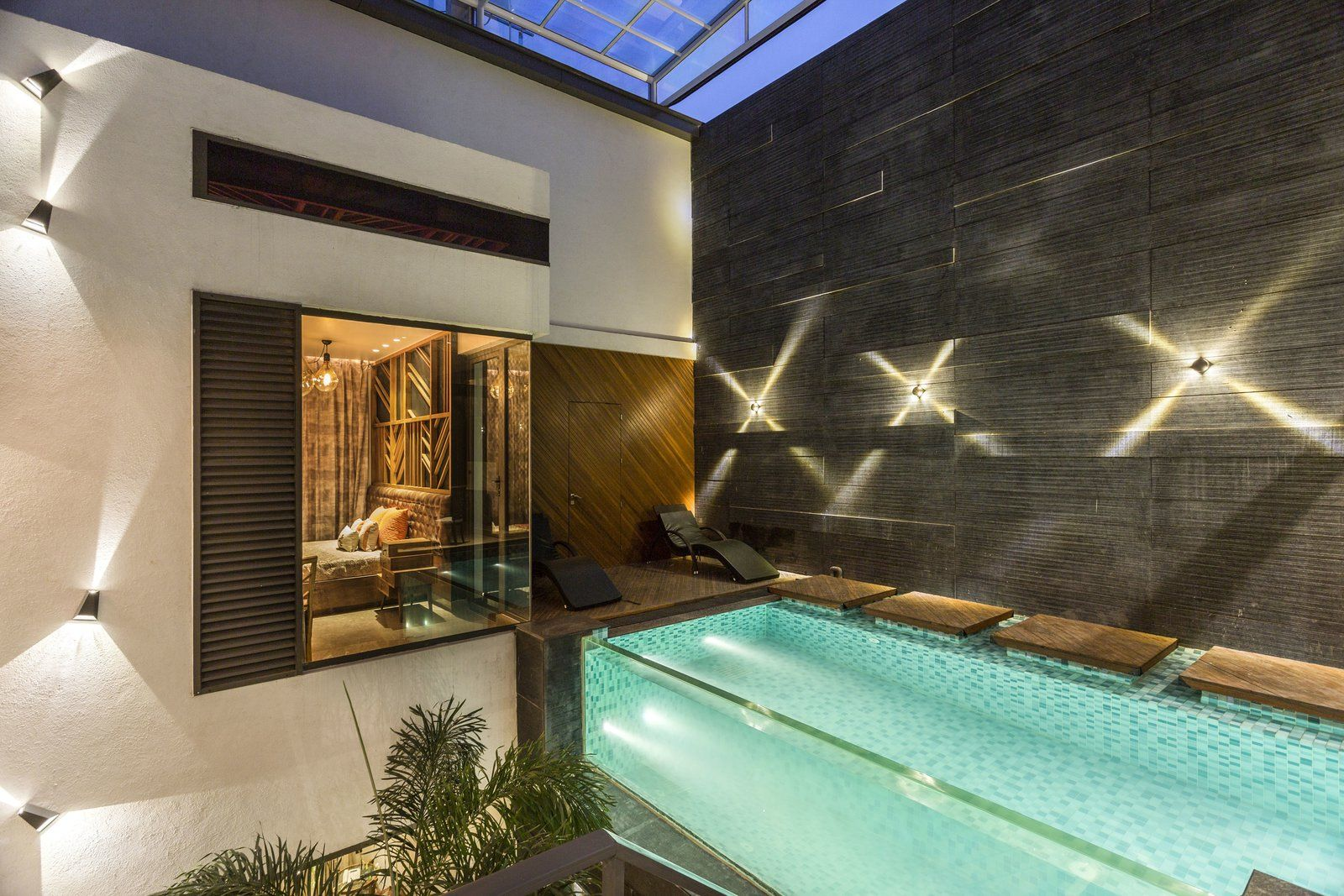 Pool Yard House Modern House Design House House Design