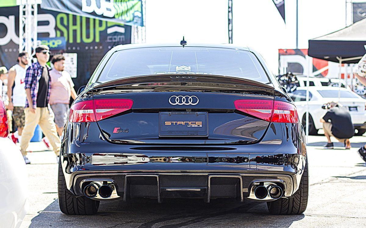 Dark Vader Audi S4 B8 5 With Armytrix F1 Edition Catback Valvetronic Exhaust Audi Cars Audi S4 Audi Rs
