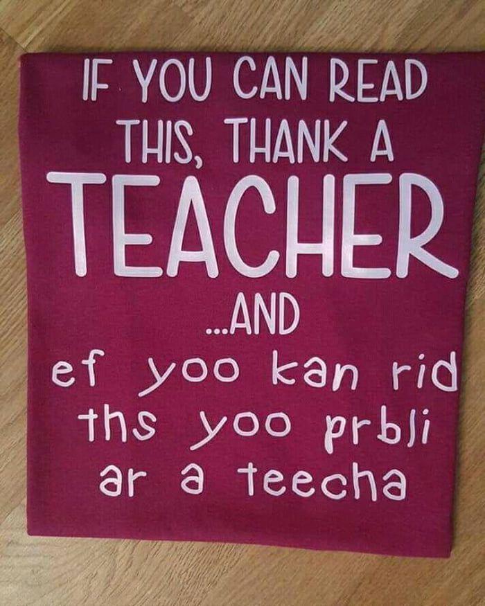 Any teachers here?