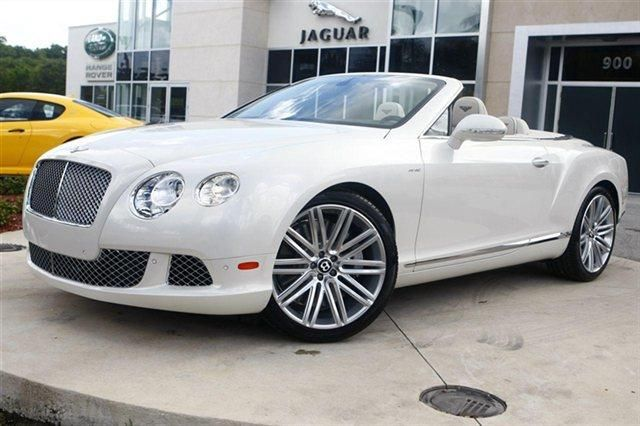 2014 Bentley Continentalgtspeed Base Awd 2dr Convertible Convertible 2 Doors Ghost White 3 Coat Pearlescent For Bentley For Sale New Cars For Sale Used Bentley