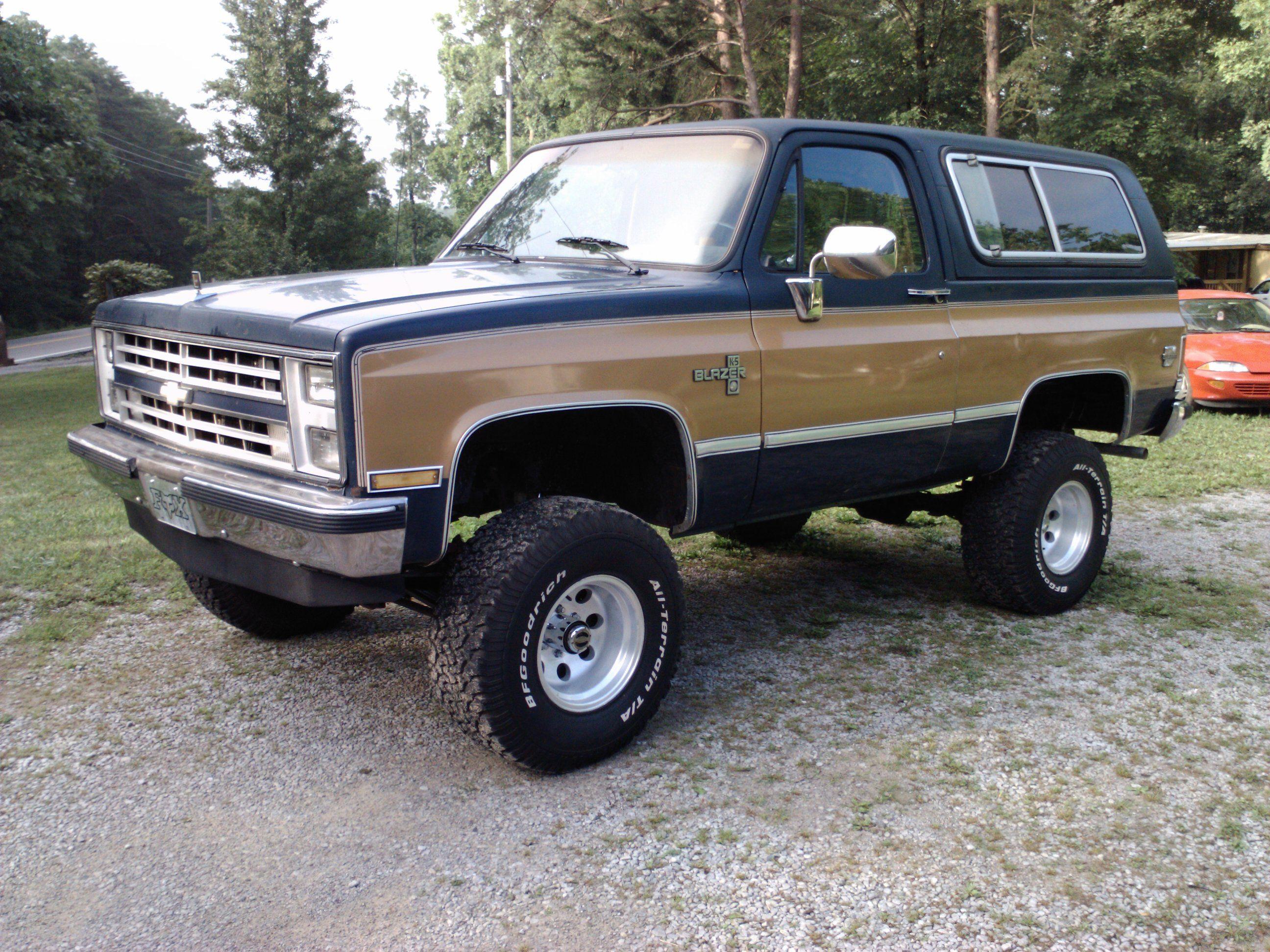 1988 K 5 Blazer Classic Chevy Trucks Chevy Trucks Chevy Blazer K5
