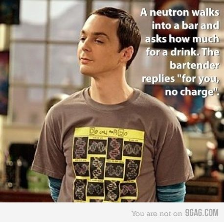 I love Sheldon! ... and I just died laughing. wow i'm a nerd