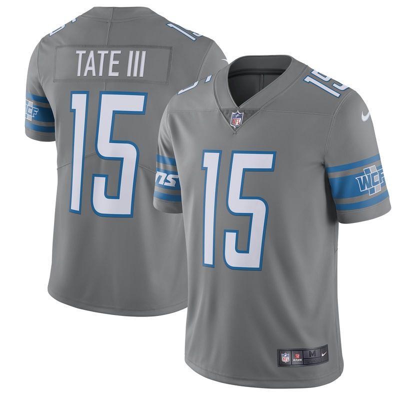 Wholesale Golden Tate Detroit Lions Nike Vapor Untouchable Color Rush Limited  free shipping