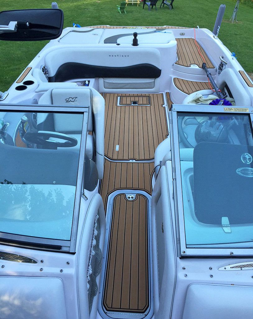 Materials For Replacing Boat Floor Faux Teak Lightweight Boat Decking Material